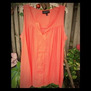 Orange baby doll shirt